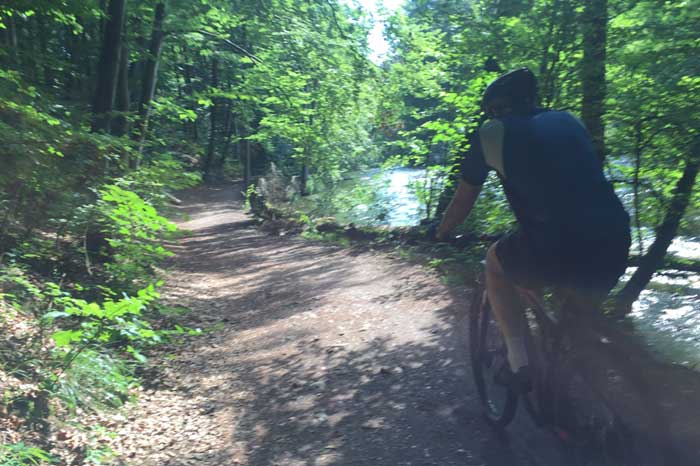 Alpine Mountain Bike Outdoor Activity Tour near Munich