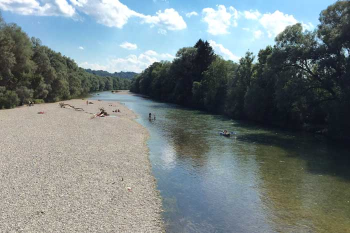 Munich Experience Outdoor float down River Isar Adventure