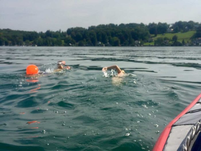 Open Water Swim Munich Experience Adventure Starnberg Crossing