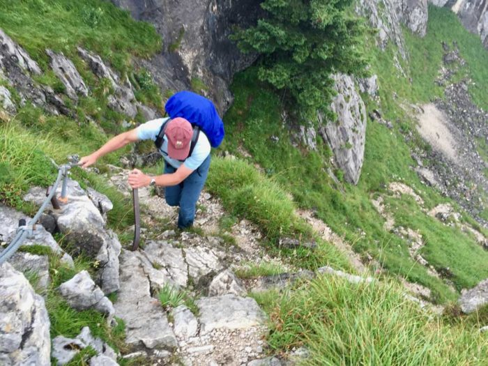 Munich hike Klettersteig secured cable outdoor adventure Alps experience