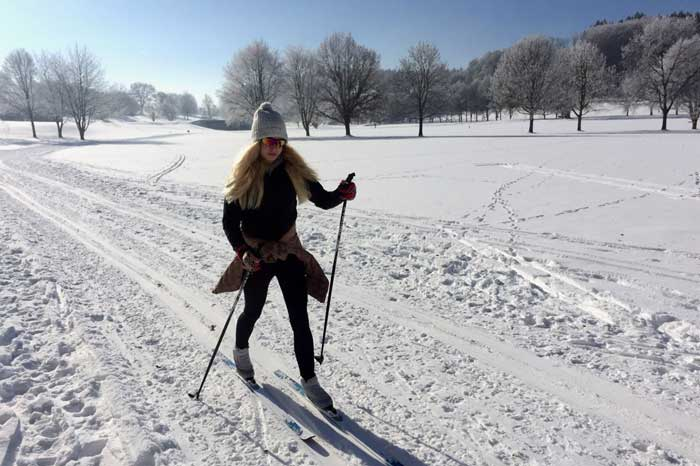 Cross-Country Skiing from Munich Bavaria classic or skate activity outdoors